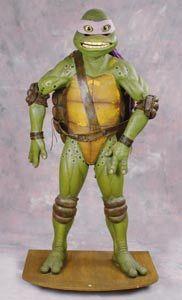 Full-size Donatello costume from Teenage Mutant Ninja Turtles III