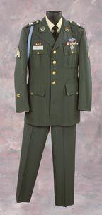 Tom Hanks formal military uniform from Forrest Gump