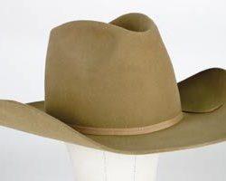 "Larry Hagman ""J.R. Ewing"" hat from Dallas"