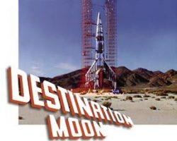 Luna spaceship miniature – Destination Moon
