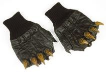 Capt. Klaa gloves from Star Trek V: The Final Frontier