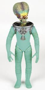 Alien stop-motion figure from Mars Attacks