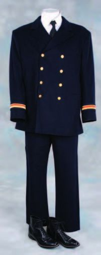 Officers uniform from Titanic