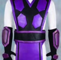 4 Ninja warrior costumes – Mortal Kombat: Annihilation