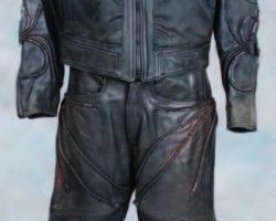 Matt LeBlanc leather military flight suit Lost in Space