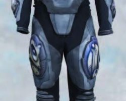 Matt LeBlanc electronic flight suit from Lost in Space