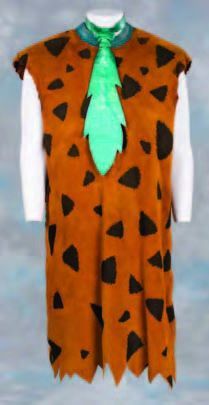 Six Flintstones in Viva Rock Vegas principle costumes