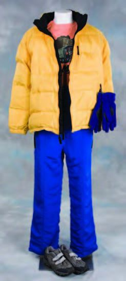 Adam Sandler hero costume from Little Nicky