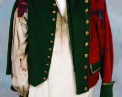 Jason Isaacs British Dragoon uniform from The Patriot