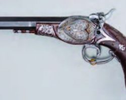 Rubber stunt pistol from The Mexican