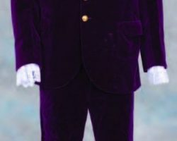 Mike Myers purple suit from Austin Powers in Goldmember