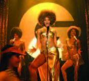 Beyonce Knowles gold dress Austin Powers in Goldmember