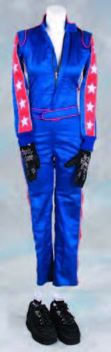 Lucy Liu racing costume from Charlies Angels