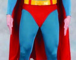 Christopher Reeve complete hero Superman costume