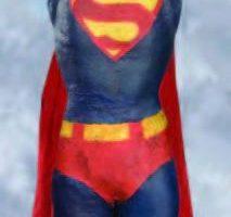 SFX Superman figure in Niagara Falls shot – Superman II