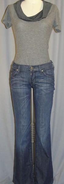 24 Kim Bauer Elisha Cuthbert Armani Top & Jeans