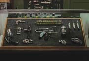 Collection of weapons & gadgets from Men in Black