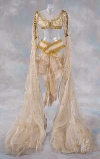 Pair of Bride of Dracula dresses from Van Helsing
