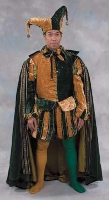 David Wenham jester costume as Carl in Van Helsing
