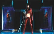 Milla Jovovich red leather costume from Ultraviolet