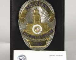 "Dan Aykroyd ""Joe Friday"" sergeants badge – Dragnet"