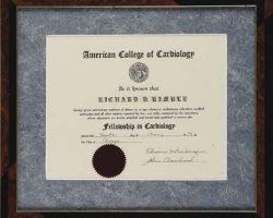 Richard Kimbles medical school diploma – The Fugitive