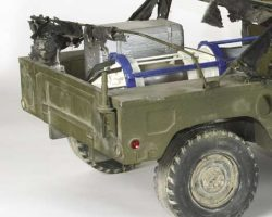 Special effects Humvee from Broken Arrow