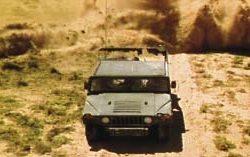 Special effects Humvee from Broken Arrow