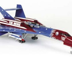 Miniature hero warplane – Team America World Police
