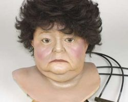 Animatronic head of Tangina Barrons from Poltergeist