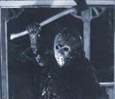 Jason hockey mask from Friday the 13th