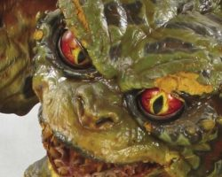Animatronic gremlin figure from Gremlins 2