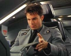 Bridge officers uniform jacket from Starship Troopers