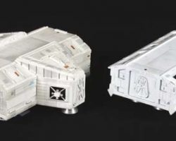 Eagle spaceship model from Space: 1999
