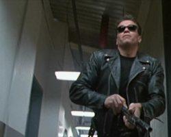Arnold Schwarzenegger Black Make Up Shirt