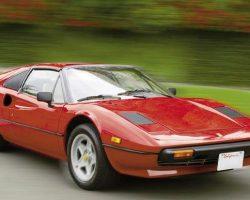 The Ferrari 308 GTS from Magnum, p.i.