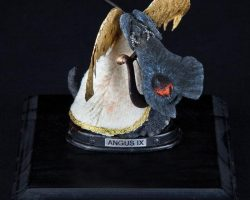 Screen-used Angel Dog taxidermy puppet from Coraline