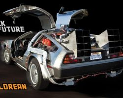 The most technically accurate reproduction of the iconic DeLorean Time Machine