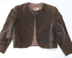 "Butch Patrick ""Eddie Munster"" first season velvet coat from The Munsters"