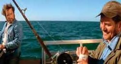 Fishing rod & reel from Quints boat in Jaws