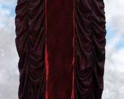 Yvonne De Carlo black cloak worn as Lily Munster