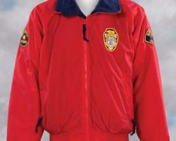David Hasselhoff lifeguard jacket from Baywatch