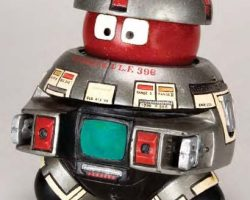 V.I.N.C.E.N.T. robot filming miniature – The Black Hole