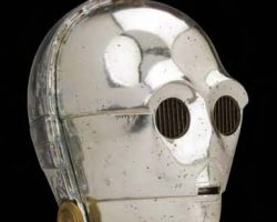 C-3PO head from Star Wars: A New Hope