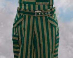 Sebastians striped overalls from Blade Runner