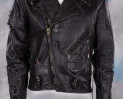Arnold Schwarzenegger leather jacket – The Terminator