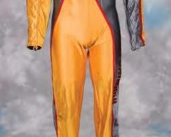 Schwarzenegger hero jumpsuit from The Running Man