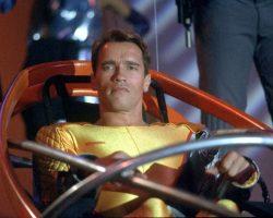Schwarzenegger hero jumpsuit from The Running Man