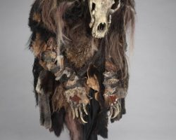 A creature costume from The Village