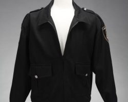 Matrix Reloaded and Matrix Revolutions City Police Officer Jacket